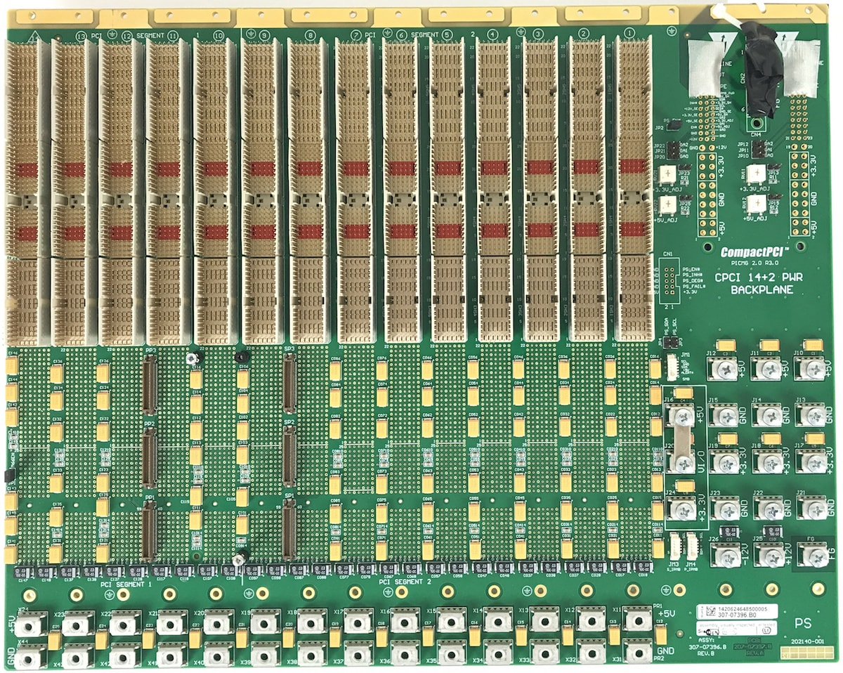 Comtel Backplane CompactPCI Serial 14 Slot