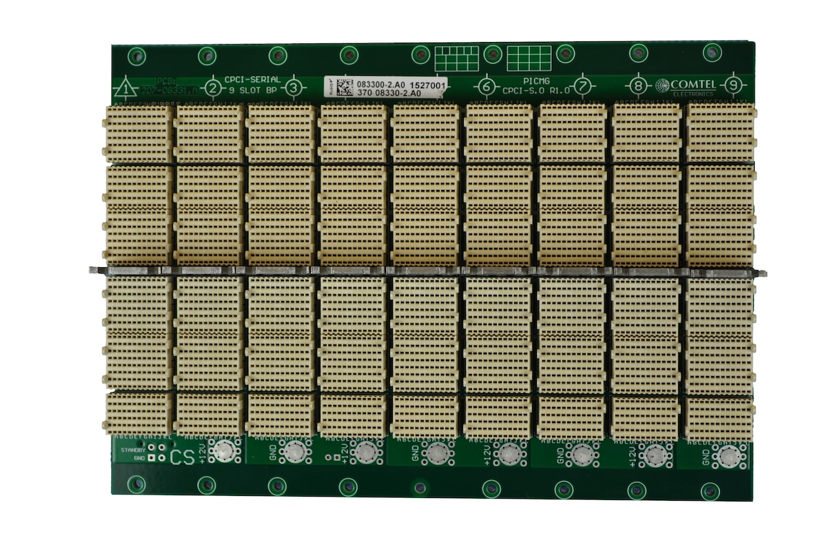 Comtel Backplane CompactPCI Serial 8 Slot