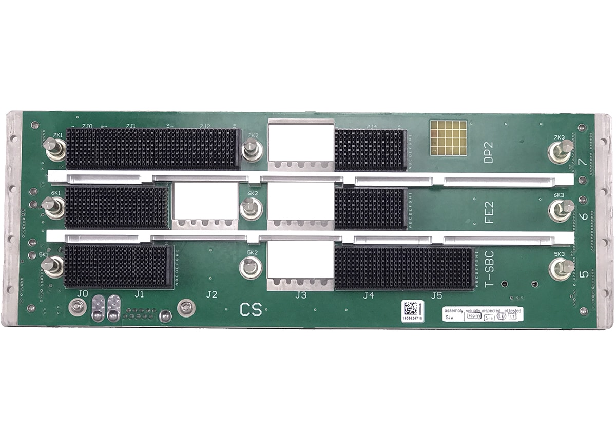 Comtel Backplane Custom 3Slot VPX 6U