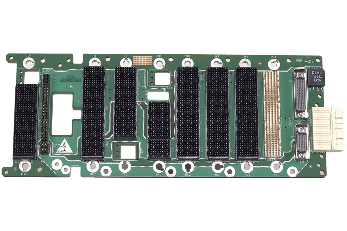 Comtel Backplane Custom VPX Front