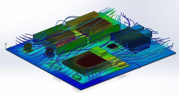 Comtel Thermal Analysis Adlink Board